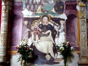 Affresco Madonna delle Grazie - Pennabilli