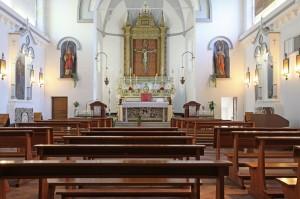 Interno Chiesa di Talamello