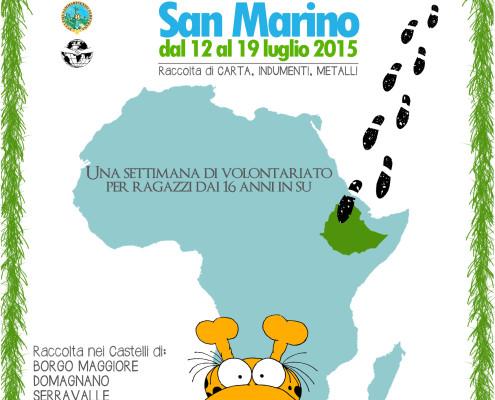 campo di lavoro San Marino 2015