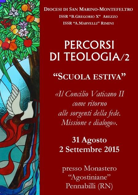 Manifesto Percorsi di Teologia 2