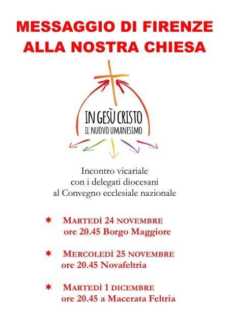 Locandina Convegni post Firenze 3 in 1