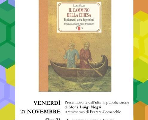 Locandina presentazione libro mons negri