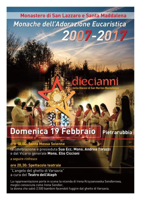 Monache Adoratrici_decennale